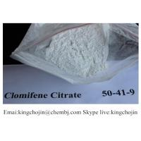 Buy cheap Top Quality Bodybuilding Anti Estrogen Steroid Powder Clomiphene citrate CAS 50-41-9 from wholesalers