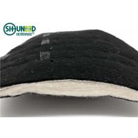 Buy cheap Black Needle Punched nonwoven shoulder pads for Men's overcoat and jacket cloth from wholesalers