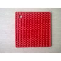 Buy cheap Durable SquareSilicone Heat Resistant Mats Honeycomb Food-safe FDA Approval from wholesalers