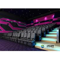Buy cheap Exciting 4D Movie Theater With Circular Screen , 4D Theater System product