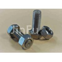 Buy cheap M24 Big Titanium Hex Head Bolts Plain Color Inch Thread Used On Ships from wholesalers