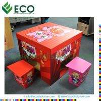 Buy cheap Flat packed hot sale corrugated cardboard furniture from wholesalers