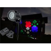 replaceable patterns slides disk LED snowflake Projector outdoor lights