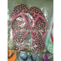 Buy cheap Leopard Printing EVA Foam Slippers Women Non - Toxic Individual Design Plus Size Flip Flops from wholesalers