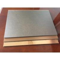Buy cheap Anti - Bacterial Copper Composite Panel Waterproof With High Peeling Strength product