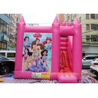 Buy cheap Commercial Bounce House Slide Inflatable Jumping Bouncy Castle For Play Center from wholesalers