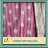 Buy cheap Polyester Printing Baby flocking Faux Fur Fabric For Garment Funiture Toys product