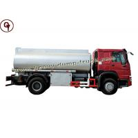 Buy cheap Howo 4 By 2 Small Engine Oil Tanker Truck 10000 Liters Capacity Fuel Tank from wholesalers