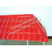 Buy cheap Plastic spanish type glazed roof tile roofing panel board extrusion and forming machine product