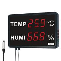 Buy cheap HUATO Digital Thermometer Hygrometer Digital Temperature And Humidity Display from wholesalers