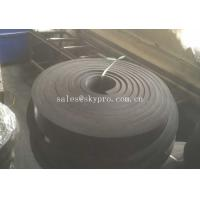 Buy cheap Black Rubber Sheet Non Asbestos skirtboard rubber Natural Sponge , 1mm-100mm Width from wholesalers