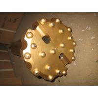 Buy cheap Gold Spherical Concave Drill Bit , Alloy Forging SD6 190 Mm Rock Drill Bits product