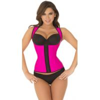 Buy cheap Sexy Bodyshapers Wholesale Hot Pink Thick Strapped Contour Waist Trainer with size S M,L,XL from wholesalers