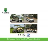 Buy cheap Electric Road Legal Golf Buggy Battery Powered Six Passenger For Golf Course from wholesalers