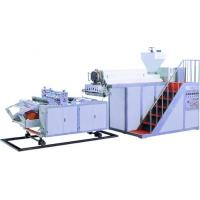 Buy cheap LLDPE Stretch Plastic Film Extrusion Machine 0.015-0.06mm Film Thickness from wholesalers