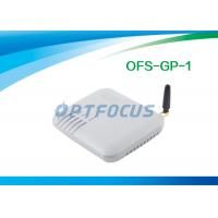 Buy cheap 10 / 100 Base - T 1 Channel VOIP GSM Gateway 850MHz 1800MHz  with SIP / H.323 from wholesalers
