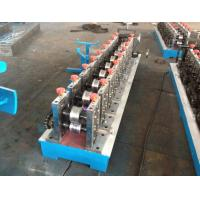 Buy cheap Galvanized Light Steel CU Stud And Track Roll Forming Machine 0.4-1.2mm Profile Thickness from wholesalers