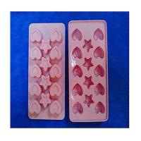 Buy cheap heart shape silicone ice tray mold ,custom silicone tray molds product