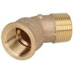 Buy cheap 1 Pex-Al-PexElbow Plumbing Pipe Fittings , Brass Pex Plumbing Fittings For Water / Gas from wholesalers