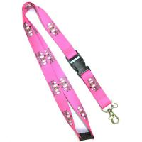 Buy cheap cheap Chinese supplier cartoon character lanyard with buckle and dog hook 92 cm from wholesalers