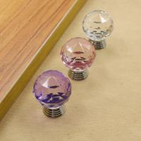 Buy cheap European Style Drawer Crystal Pulls Cabinet Door Pulls Handles Furniture Konbs from wholesalers