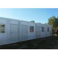 Blend Color Flat Pack Container House Eco Friendly For Large Construction Filed