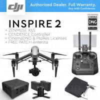 Buy cheap DJI INSPIRE 2 RAW LC3 + Cendence + X5S + Cinema DNG, ProRes + FREE PATCH Antenna and Hard Case from wholesalers