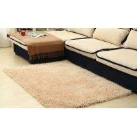 Buy cheap Modern Plain 100% Polyester Shag Rug For Bedroom / Meeting Room product