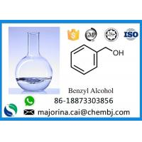 China Purity 99% Liquid Solvent Benzyl Alcohol BA For Pharmaceutical Intermediate CAS 100-51-6  on sale