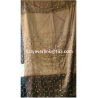 Buy cheap Sequins organza embroidered curtain product