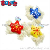 Buy cheap New Design Stuffed Star Pet Toy With Cotton Rope and Squeaker from wholesalers