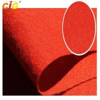 Buy cheap Multi Colors Auto Carpet Fabric For Internal Decoration Plain / Brushed / from wholesalers