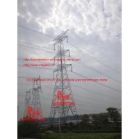 Buy cheap 500KV double circuit  SJT umbrella type transmission tower from wholesalers