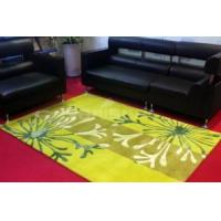 Buy cheap 104 1.4mx2.0m Acrylic and Artifical Cotton Blended Handmade Decorative Carpet from wholesalers