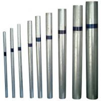 Buy cheap BS1387 galvanized steel pipes from wholesalers