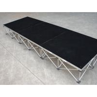 Buy cheap Wedding Portable Folding Stage Smart Collapsible Staging 18mm Black from wholesalers