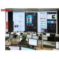 Buy cheap High Definition lcd screen control room video wall 1.8mm 3840 x 2160 resolution  DDW-LW550DUN-THA3 from wholesalers