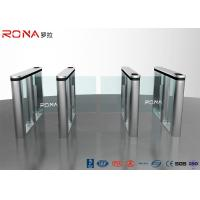 Buy cheap RFID Reader Speed Gate Turnstile Automatic Systems DC Servo Motor With LED product
