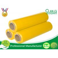 Buy cheap Yellow Packaging Stretch Wrap Film PE Material For Lastic Raw Material from wholesalers