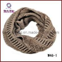 Buy cheap 2012 Chunky Knit Pointelle Crochet Scarf (W46-1) from wholesalers