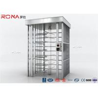 Buy cheap Auto Security Full Height Turnstile Pedestrian System 30 Persons / Minute Speed product