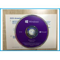 Buy cheap Windows 10 Pro Software OEM English / French / Italian /  Russian/Japanese online activation from wholesalers