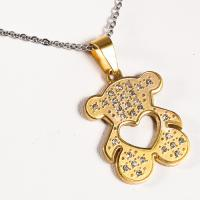Buy cheap 316 Stainless Steel 18K Gold Plated Pendants , Heart Shaped Pendant For Girl from wholesalers