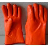 Buy cheap winter use gloves,Fluoresent pvc dipped gloves product