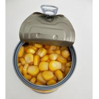 Buy cheap Chinese Natural Food Vacuum Canned Sweet Corn , Tinned Sweetcorn from wholesalers