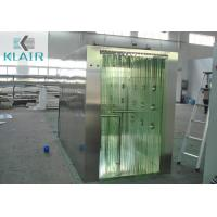 Buy cheap Air Shower Tunnel Microprocessor Controller With Soft Curtain Door from wholesalers