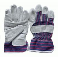 Buy cheap Cow split leather working glove from wholesalers