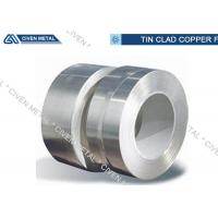 Buy cheap Surface Tinned Conductive Tin Plated Copper Foil Sheet With High Mechanical Performance from wholesalers