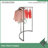 Buy cheap Clothing display ideas cabinet rack clothes rack women store clothing plus size shop decoration from wholesalers