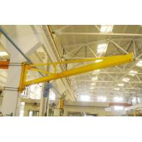 Buy cheap 180 Degree Wall Mounted Workshop Jib Crane with Radio Controlled Pendent Control from wholesalers